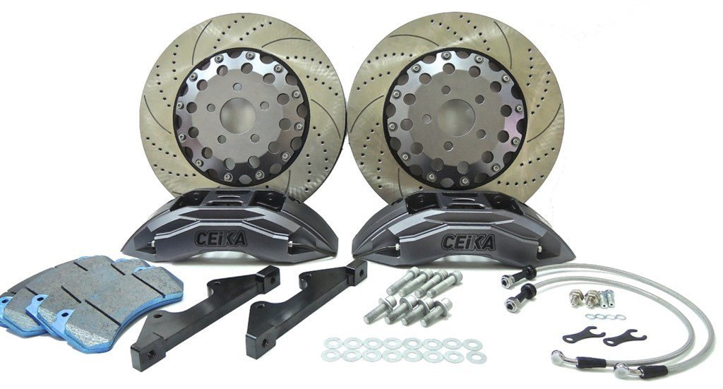 CEIKA Custom Big Brake Kit for Mercedes-Benz C204 C63 AMG C-Class Coupe (08~14) - ceikaperformance
