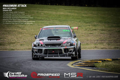 CEIKA Type 2M Coilovers for Subaru Impreza WRX STI GC8 (93~01) - ceikaperformance