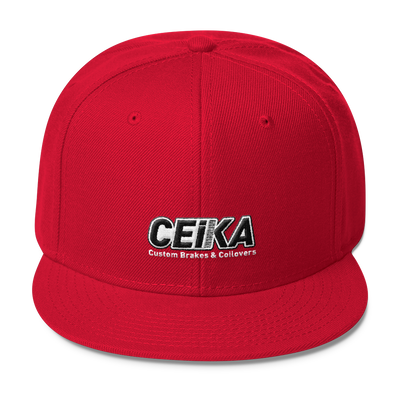 CEIKA by Otto Wool Blend Snapback Hat