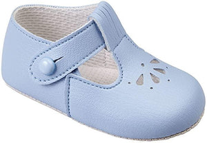 Baby pods Boys Matt Blue shoes - Funky Kids Magherafelt