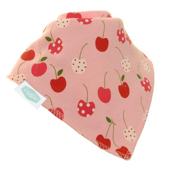 Ziggle girls cherry bib funky Kids Magherafelt