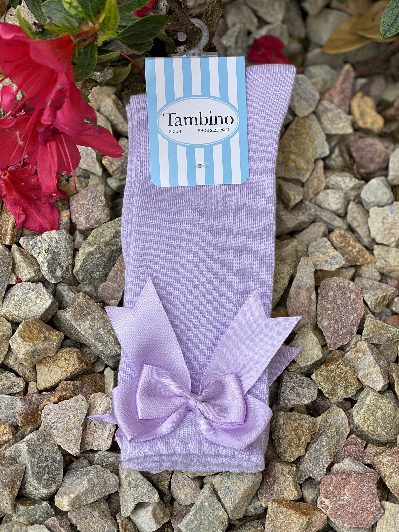 Tambino Girls Double Bow Socks  Funky kids - Magherafelt
