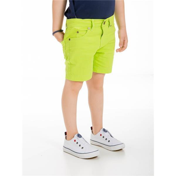 UBS2 BOYS LIME GREEN SHORTS