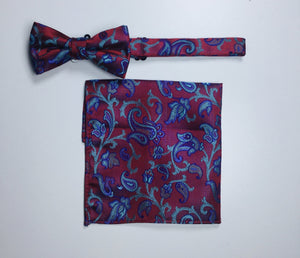 1880 CLUB BOYS BOW TIE OR TIE & POCKET TISSUE MAGHERAFELT