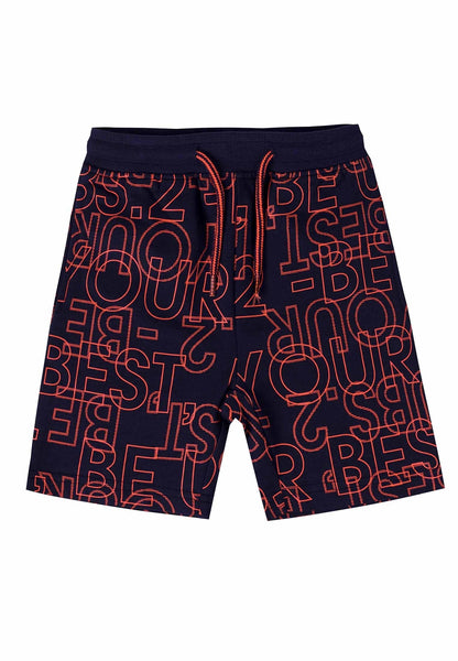 Ubs2 Boys Navy Pattern Shorts Funky kids