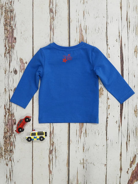 Blade & Rose Boys Blue tractor Top Funky kids - Magherafelt