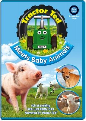 Tractor Ted Meets Baby Animals DVD Funky Kids Magherafelt