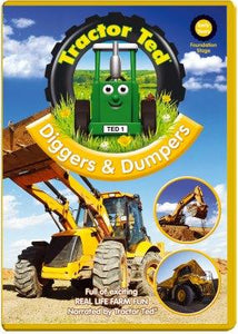 Tractor Ted Diggers & Dumpers DVD Funky Kids Magherafelt