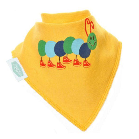 Ziggle Caterpillar Bib