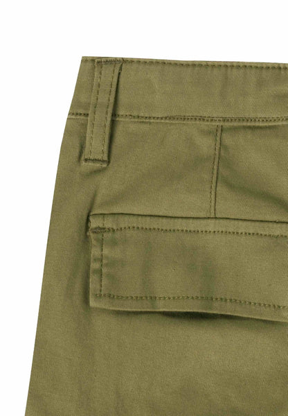 Ubs2 Boys Khaki Green Shorts Funky kids
