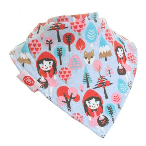 Ziggle girls little red riding hood bib funky kids - Magherafelt
