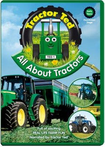 Tractor Ted All About Tractors DVD Funky Kids Magherafelt