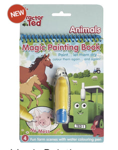 Tractor Ted Magic Painting Book Animals Funky kids - Magherafelt