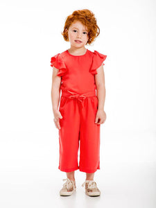 UBS2 GIRLS RED JUMPSUIT