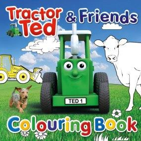 Tractor Ted Colouring Book Funky kids Magherafelt