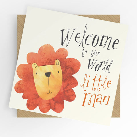Under The Willow Tree Baby Boy Card Funky kids