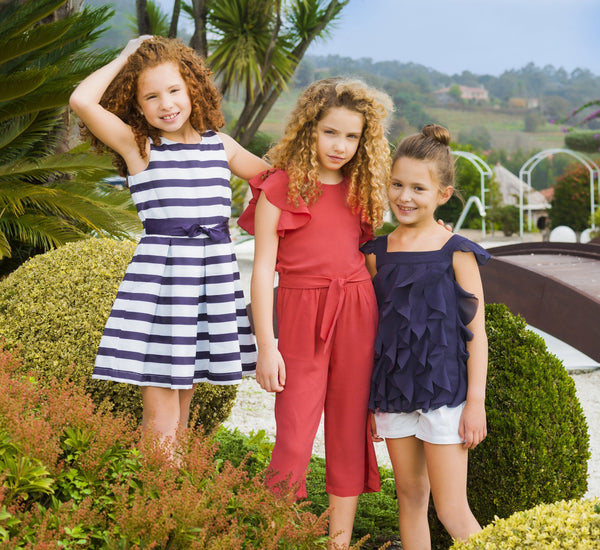 UBS2 GIRLS NAVY/WHITE DRESS Magherafelt