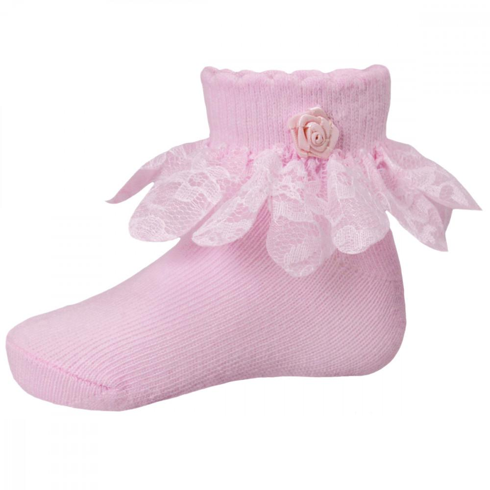 Soft Touch Baby Girl Pink Socks Funky Kids Magherafelt