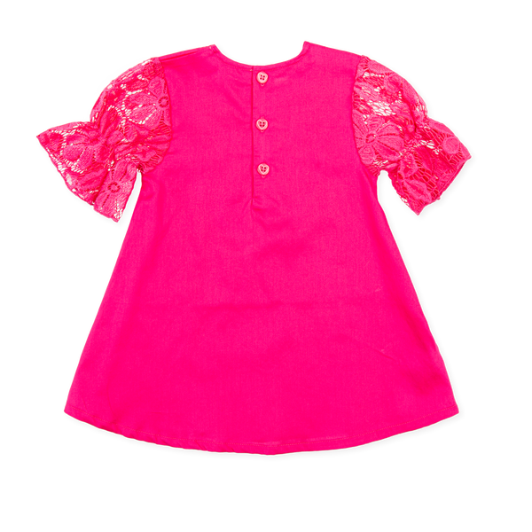 Agatha Ruiz De La Prada Girls Pink Dress Funky kids