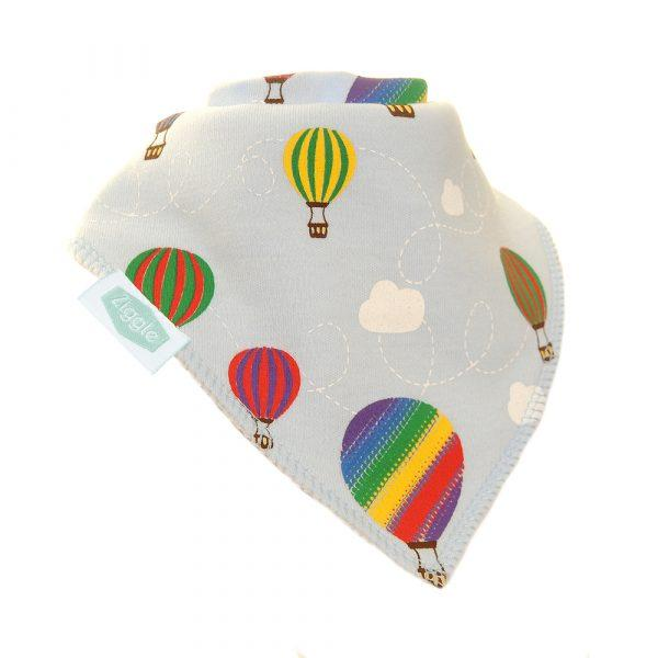 Ziggle Hot air balloon bib funky kids - Magherafelt