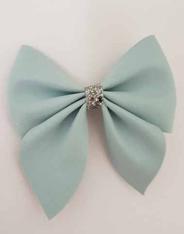 Once upon a bow Baby Blue Bow Funky kids - Magherafelt
