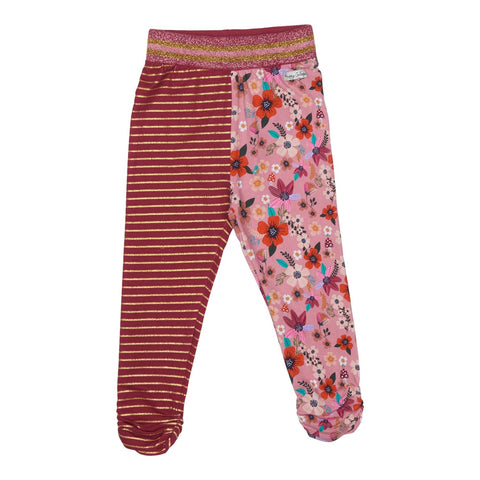 Happy Calegi Girls Lily Stripe/Floral Leggings Funky kids Magherafelt
