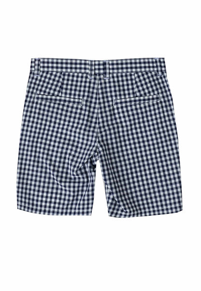 Ubs2 Boys Navy Check Shorts Funky kids