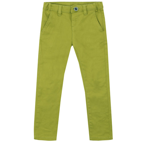 Ubs2 Boys Lime Green Chinos Funky kids - Magherafelt