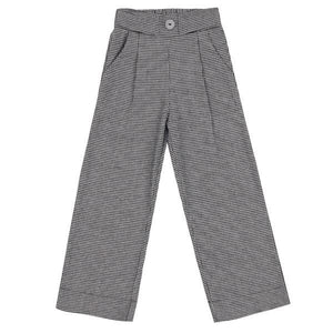 UBS2 WIDE LEG CHECK TROUSERS