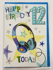 Boys Age 12 Birthday Card funky kids magherafelt