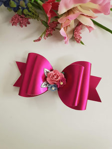 ONCE UPON A BOW GIRLS PINK BOW