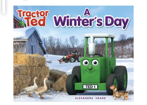 r Ted A winters Day Book Funky kids