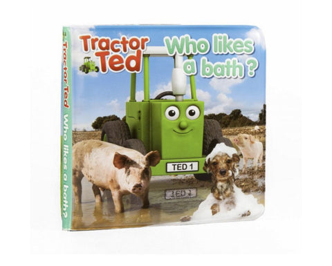 Tractor Ted Bath Book Funky Kids