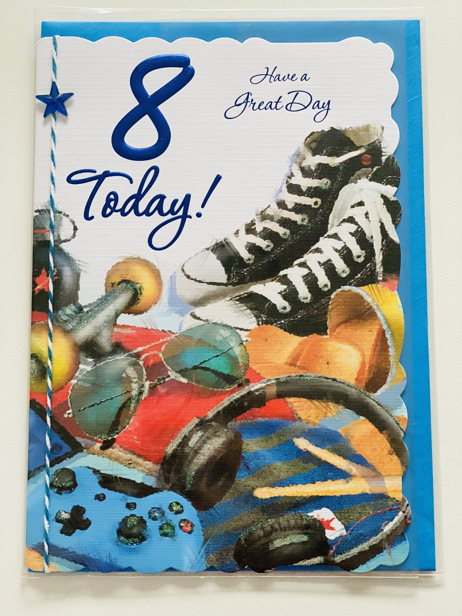 Boys Age 8 Birthday card