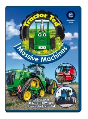 Tractor Ted Massive Machine DVD funky kids