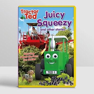 Tractor Ted Juicy Squeezy DVD Funky kids