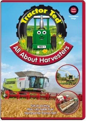 Tractor Ted All About Harvesters DVD funky kids