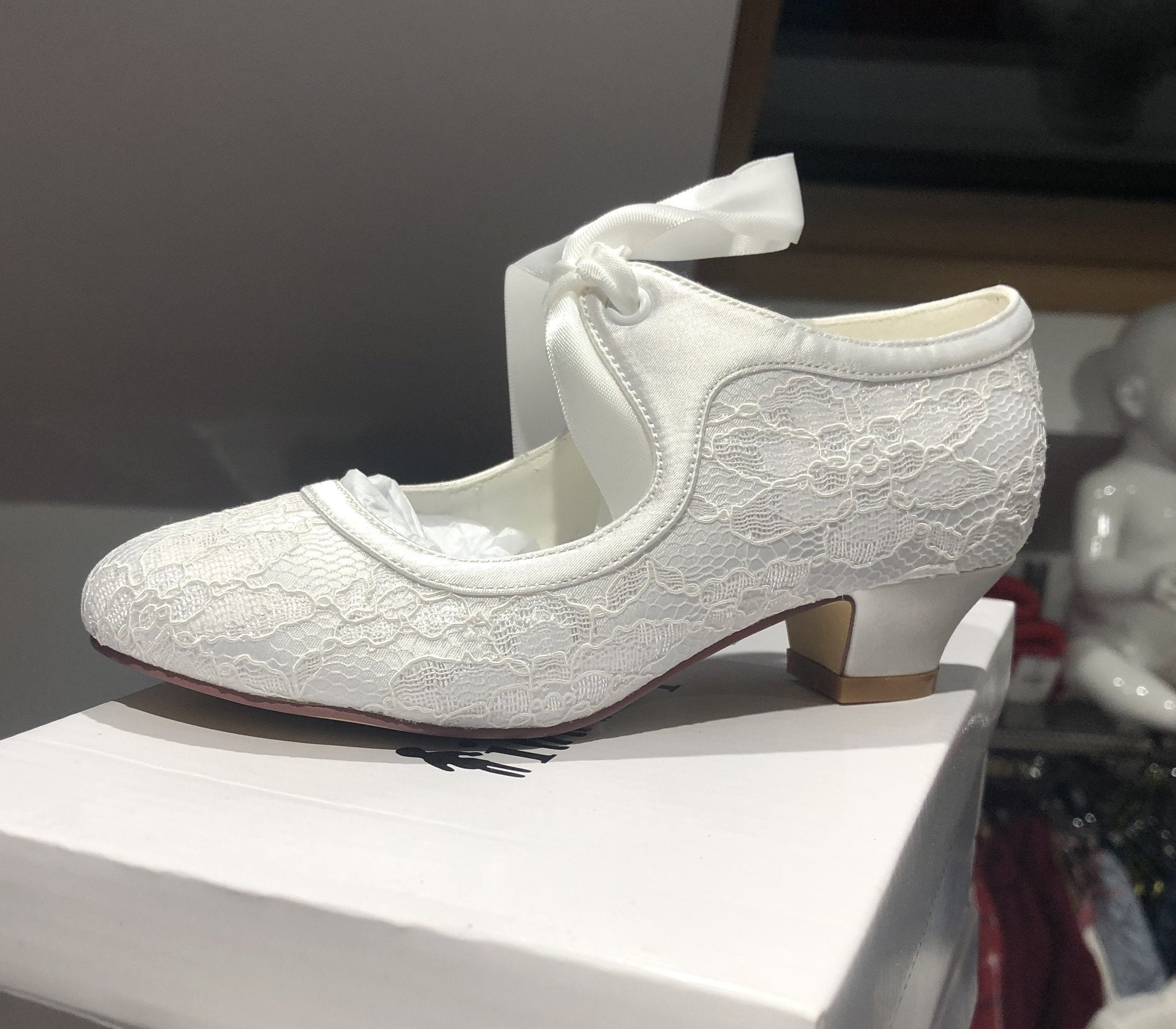 LITTLE PEOPLE GIRLS COMMUNION SHOES