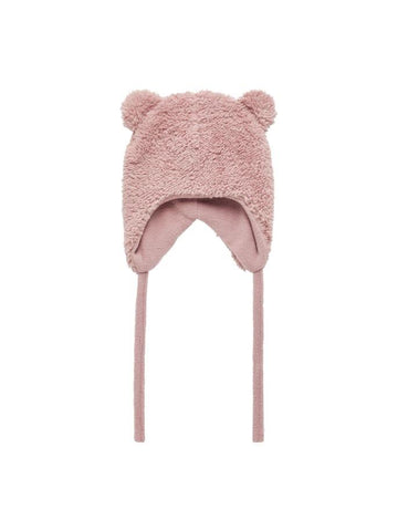 NAME IT BABY SOFT TEDDY HAT - Funky Kids