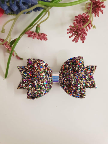 ONCE UPON A BOW GIRLS MULTI COLOUR SPAR