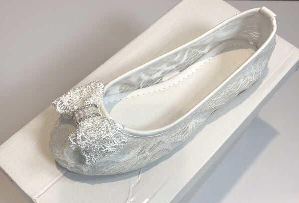 LITTLE PEOPLE GIRLS COMMUNION PUMPS - Magherafelt