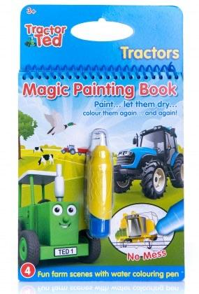 Tractor Ted Magic Painting Book Funky kids