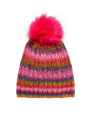 NAME IT KIDS MULTI COLOURED KNIT HAT - Funky Kids