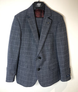 1880 CLUB BOYS GREY CHECK SUIT - MAGHERAFELT