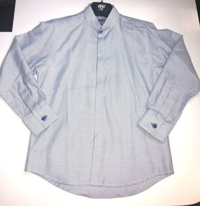 1880 CLUB BOYS STRIPE BLUE SHIRT