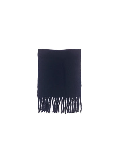 Soft Knit Scarf Navy