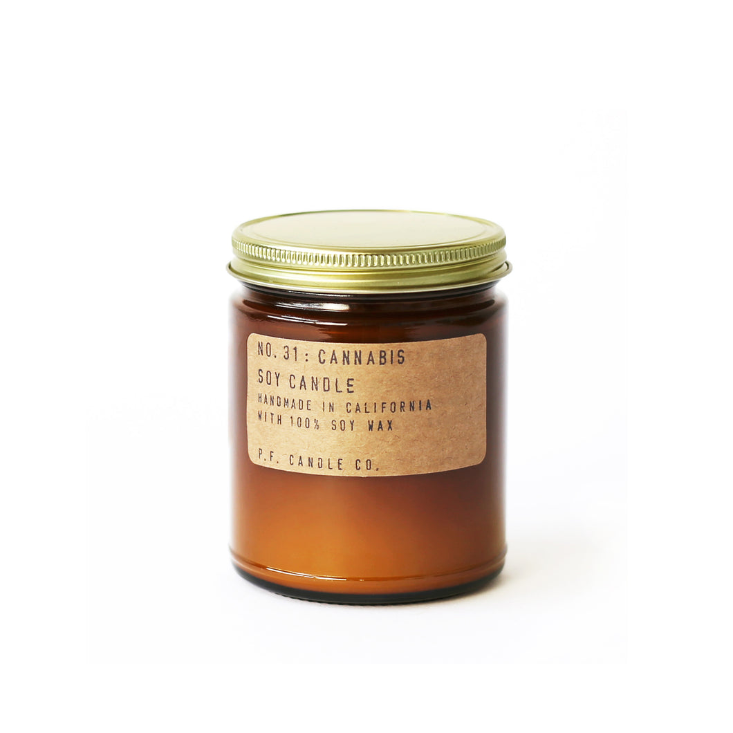 NO. 31: CANNABIS  P.F. CANDLE CO.