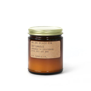 NO. 28: BLACK FIG   P.F. CANDLE CO
