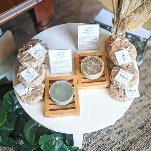 handmade soap at SCANDISKIN in Prince Edward County