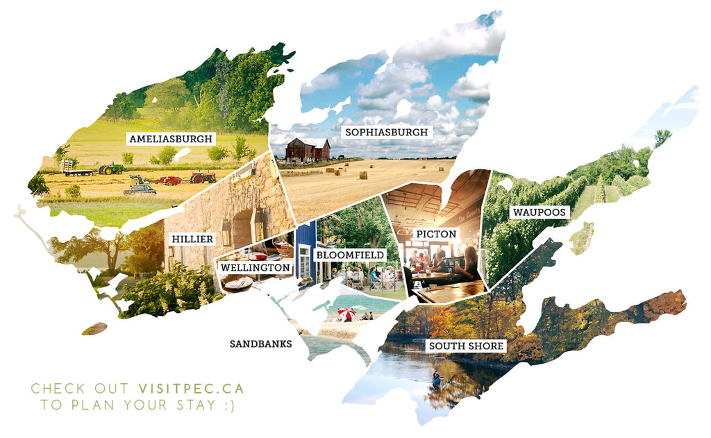 check out www.visitpec.ca to plan your visit to Prince Edward County